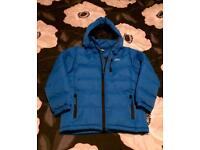Boys blue trespass tuff insulated jacket. 7-8yrs. Excellent condition
