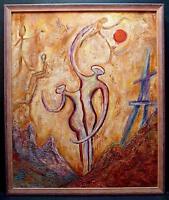 Pareja Amor Symbolisme Echelle Monograma Dreysse Maza Ténicas Mixtas Xx -  - ebay.es