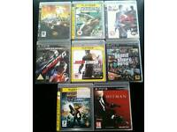 16 top ps3 games BUNDLE fully working no offers please