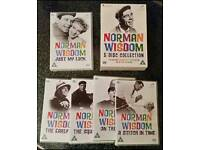 Norman Wisdom 5 DVD Collection.