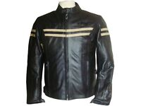 New Rk Sports Speed 3 Beige Leather Motorcycle Jacket Was £179.99