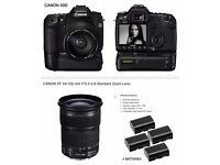 CANON 50D CAMERA FOR SALE WITH 24mm-105mm / 3.5 - 5.6 ZOOM LENS