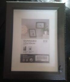 Black Picture Frame 15 x 20 cm