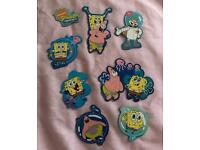 SpongeBob Squarepants Fridge Magnets Excellent Condition
