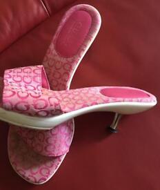 Pink Guess sandals