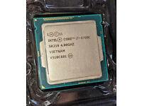 Intel 4790K CPU processor, socket LGA1150