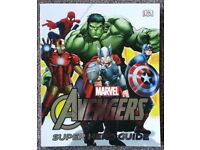 Brand New DK MARVEL THE AVENGERS SUPER HERO GUIDE