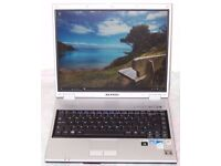 "Samsung Laptop, Windows 7 or 10, Microsoft Office 2013, 15"" Screen, WiFi, Intel Core 2 Duo, Charger"