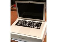"Mint condition 13"" MacBook Air 2015 with cables and box for sale £650 ono"