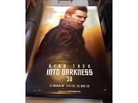 2 Huge Star Trek Cinema Banners *Rare*