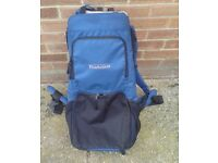 BABY CARRIER RUCKSACK 15kg MADE BY PROACTION. USED BUT IN GOOD USE CONDITION