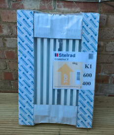Steelrad 600 x 400 radiator - new and in packaging