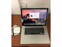 "Apple MacBook Pro ""Core i7"" 2.3Ghz 15"" Mid-2012 - 4GB RAM 500GB HDD - macOS Sierra - Mint Condition"