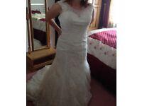 Ladies wedding dress size 12