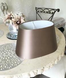 Large lamp shade oval