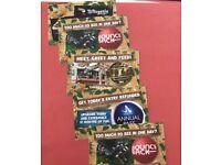 5x Chessington World of Adventures tickets 28th June 2018 (28/06/2018) BARGAIN!!!