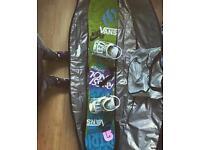 161 Rossignol Snowboard / Bindings / Boots - Ski