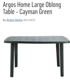 Argos garden Table