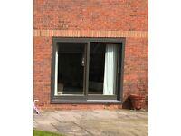 ALU CLAD lift and slide triple glazed door