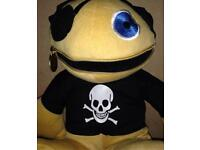 Large Retro ZIPPY as a pirate