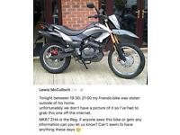 Bike stolen