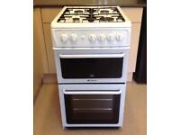 NEW HOTPOINT GAS COOKER