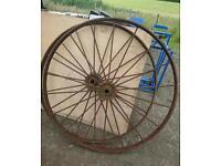 Vintage implement wheels