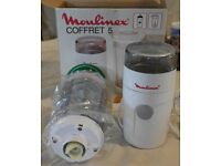Coffee Grinder/Mill and Blender - Moulinex Coffret 5