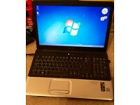"Compaq laptop 15.6"" 320gb hdd 2gb ram £65"