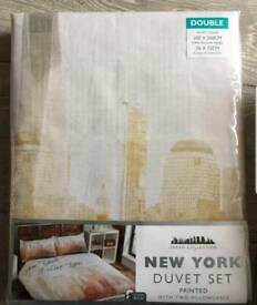 New York Double Duvet Set