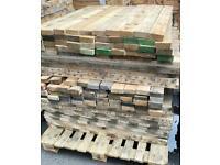 Reclaimed pallet wood ideal for DIY project or log burners