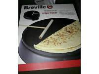 BREVILLE TRADITIONAL CREPE MAKER - NEW SEALED IN BOX
