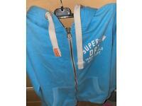Superdry jacket (L) and jumper (S)
