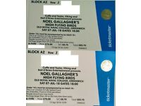 2x Noel Gallagher @ SAT 7 July - Old Royal Naval College