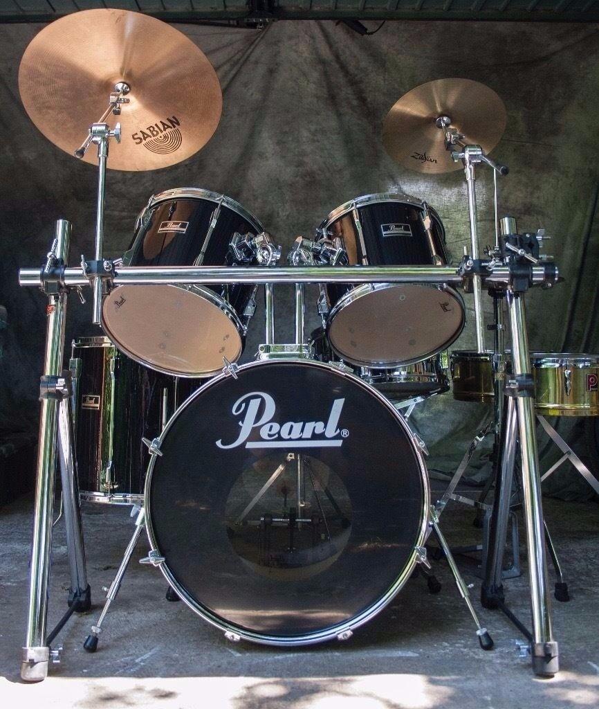5-Piece Black Pearl Export Series Drum Kit | in Camden