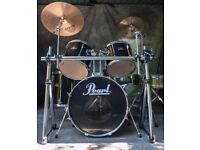 5-Piece Black Pearl Export Series Drum Kit