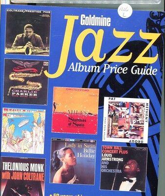 GOLDMINE JAZZ MUSIC ALBUM PRICE GUIDE KRAUSE 2000
