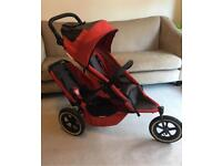 Phil and Teds sport double buggy /cocoon / rain cover