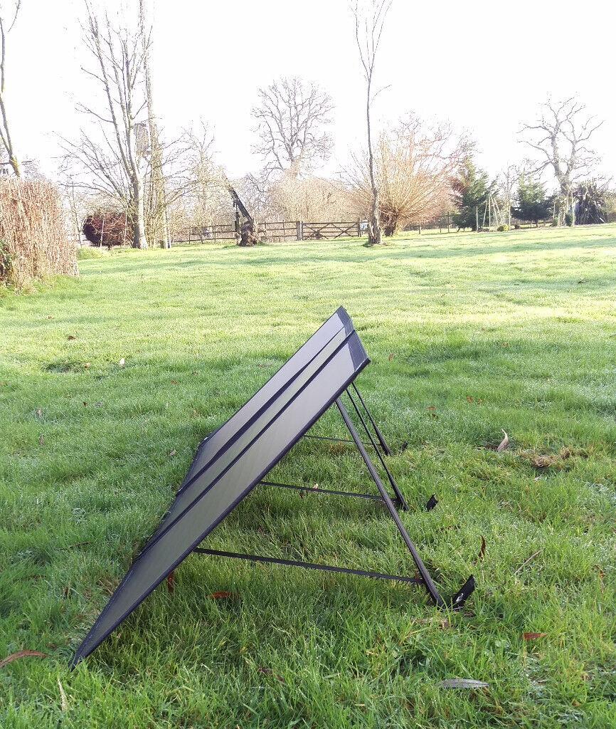 BOAT SHOW SALE! 100W Solar Panel KIT Lightweight TITAN ENERGY UK caravans  motorhomes | in Lytchett Matravers, Dorset | Gumtree
