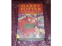 Harry Potter and The Philosophers Stone - Signed - COA - AFTAL APPROVED - First Edition - 1st/1st