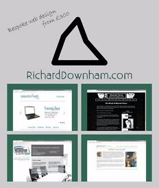 Bespoke web design - richard downham - full webdesign from £300