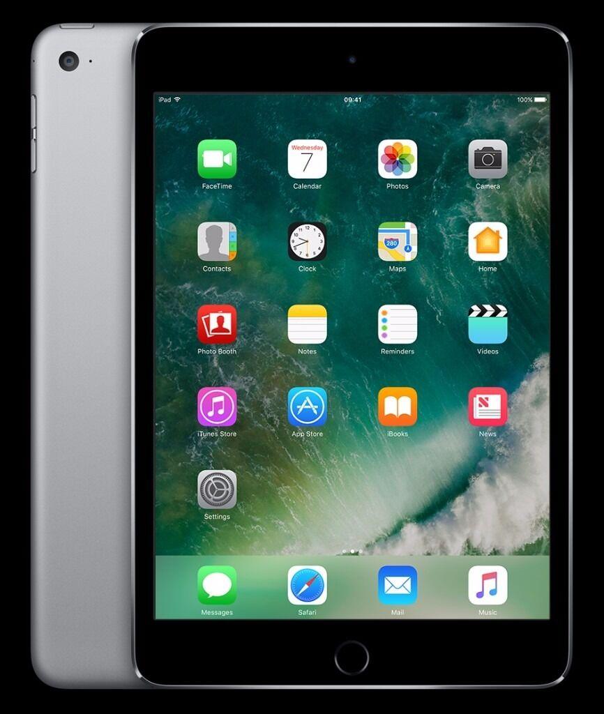 NEW SEALED iPad Mini 4 Wi-Fi 128GB - Space Grey