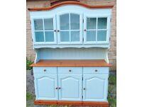 Large painted welsh dresser