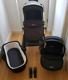 Silvercross wayfarer pushchair 3in1 travel system