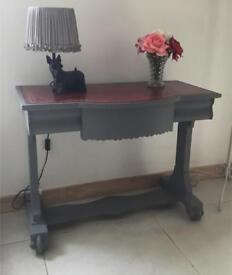 Antique Console-Hall Table Vintage Shabby Chic
