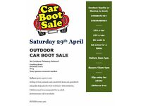 Car Boot Sale 29th April