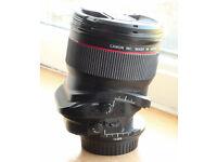Canon 24mm TS-E mark ii L lens
