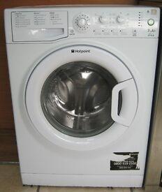 Modern Hotpoint 7kg Washing Machine inc 6 Month Cover