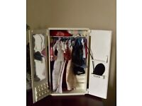 Vintage Sindy Doll Wardrobe with clothes