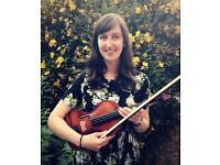 Violin & piano lessons in Manchester
